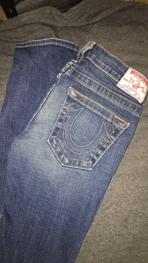 c96e73eb1 Used true religion brand jeans world tour fashion for the senses for sale  in Mayflower - letgo