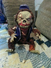 Zombie monkey moving doll Hedgesville