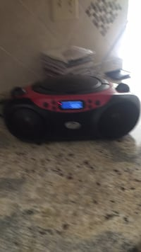 black and red portable speaker Fort Myers, 33967