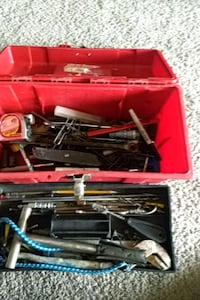 black and red tool set tool box Frederick, 21702