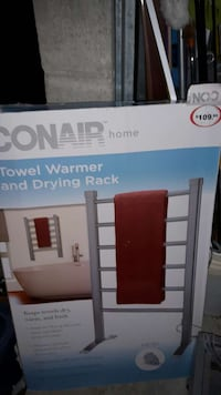 Conair home towel warmer and drying rack box Barrie, L4N 8Z3