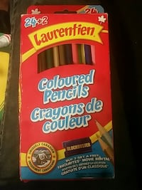 pack of coloured pencil crayons  Toronto, M2J 1A9