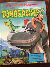 what really happened to the dinosaurs book