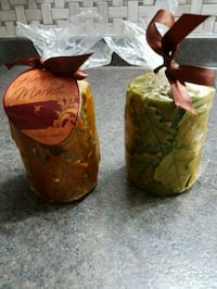 """New, set of 2 scented candles, 4""""×2.8"""" in each"""