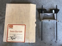 Router edge guide. Pick up in Richmond hill