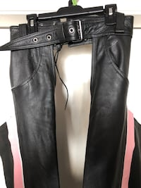 New Leather Chaps Size XXS & 32 in length