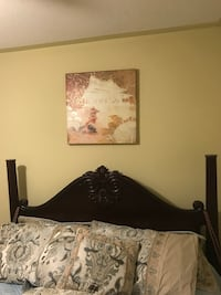 Solid wood headboard for sale