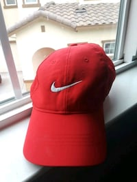 Red nike wear hat Woodland, 95695