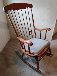 55 year old rocking chair - real wood