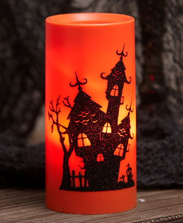 Holiday Projector Candle