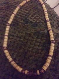 brown and black beaded necklace Tacoma, 98404