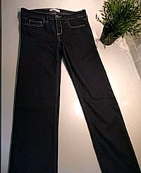 black denim straight-cut jeans Woodbridge, 22192