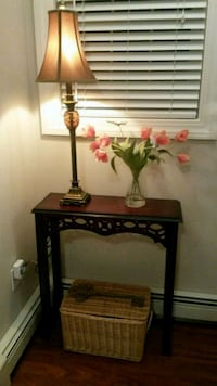 Pair of Lamps $30/ Bombay Table $20 Bedford, 03110