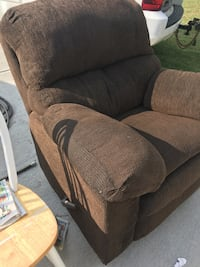 Free come get it. Don't ask me to hold. It's comfortable and big. Had it in garage for a month. 44 Northlodge court Wendell NC. Text me before u come and I'll set it outside for you.  Archer Lodge, 27591