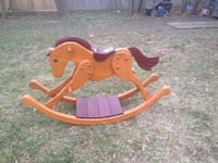 Rocking horse, solid wood,great gift Port Jefferson Station, 11776