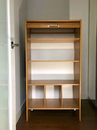 Cabinet with roll up door - mid century modern