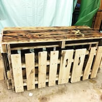 Handmade Cabinet from old pallets Greenville, 75401