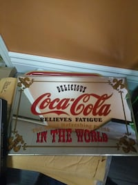 Coca-Cola wall decor Sherwood Park, T8A 5M2