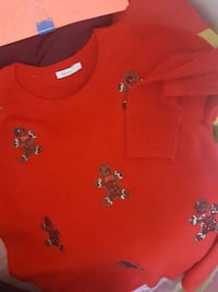 red and black floral crew neck shirt Montréal, H4N 1S4