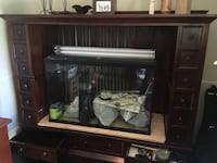 Solid wood wall unit / tank also if interested Mississauga, L5A 1G5