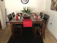 brown wooden dining table set Portsmouth, 23707
