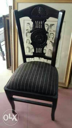 antique style exotic teakwood chairs