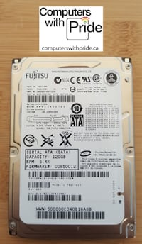"Various Laptop 2.5"" SATA Hard Drives Toronto"