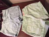Green and blue size 1 shorts  Alamo, 78516