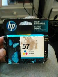 HP 57 tri-color ink cartridge box Colorado Springs, 80917