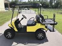 ___ New clean Gas yellow Golf Cart  PHILADELPHIA