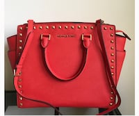 red leather Michael Kors 2-way bag West Hollywood, 90046