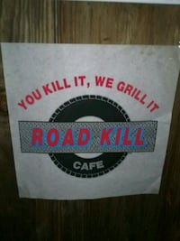 Road Kill Cafe Poster Visalia, 93277