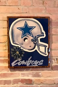 Dallas Cowboys Retro Wall Clock Baltimore, 21230