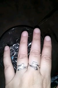 Real silver 925 rings size 8 , 9 and 19 Bakersfield, 93304