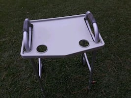Walker with food tray