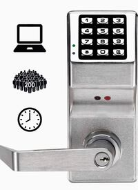 DL2800 US26D Trilogy Digital Lock Cylindrical Kil 26D, Satin Chrome