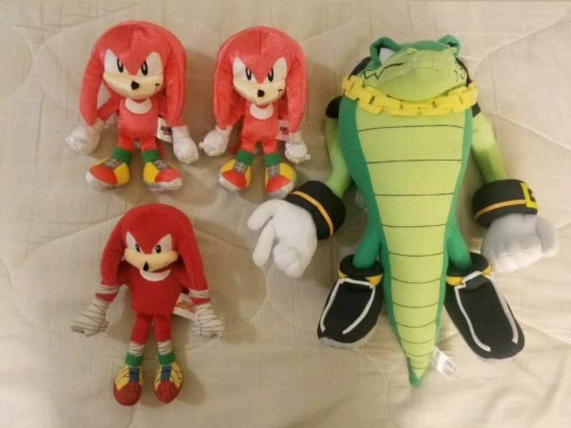 Used Sonic Plushes Full Set For Sale In Hayward Letgo