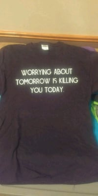 Worrying About Tomorrow blk/wht Cedar Rapids, 52402