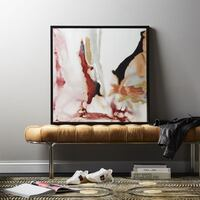 2x Limited Edition CB2 Tobala Paintings