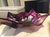 purple and silver glass bowl Laval, H7V 2T9