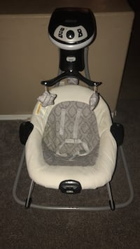 baby's white and black cradle and swing Queen Creek, 85142