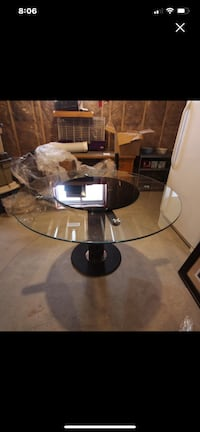 Glass Kitchen/Dining Table