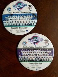 Limited Edition Blue Jays Pins Toronto, M9N