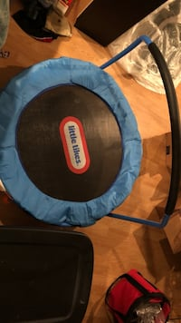 Toddler trampoline with a bar to hold onto Charles Town, 25414