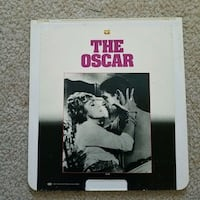 Vintage video disc movies the Oscar