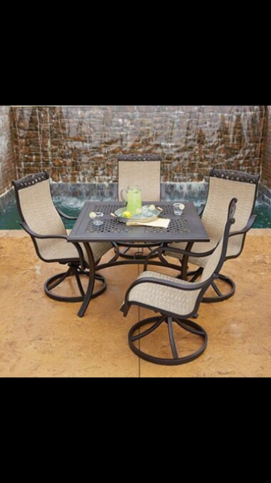 Beautiful Balcony Dining Furniture