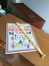 Recorder flute with instruction songbook Brampton, L6P 3L5