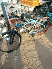 blue and black BMX bike Tucson, 85705