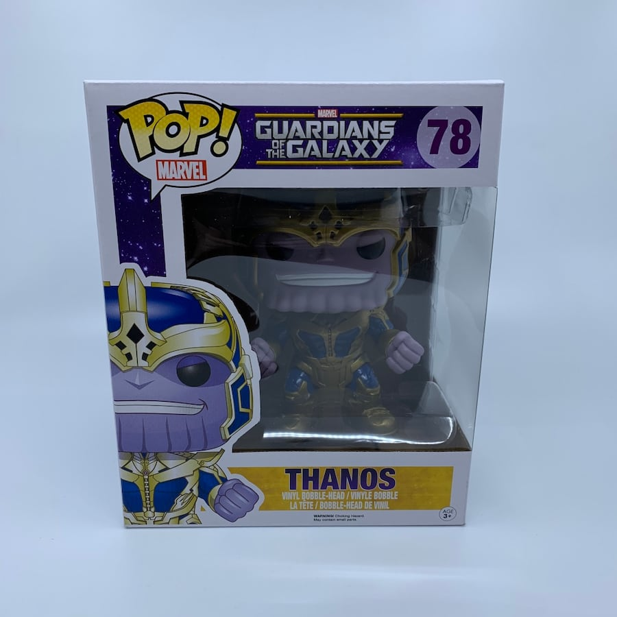 Funko Guardians of the Galaxy - Thanos #78 6-Inch