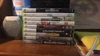 Assorted xbox 360 game  Milton, L9T 3C2